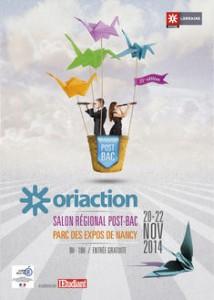 Oriaction 2014 – Nancy les 20, 21 et 22 novembre 2014