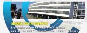 Journées Portes Ouvertes – 31 janvier (Metz) et 28 février (Nancy) 2015