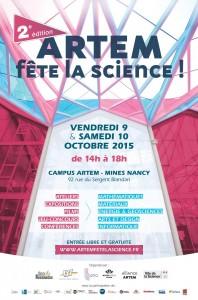 ARTEM fête la science – 9 et 10 octobre 2015