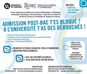 Admission post-bac – juin 2016