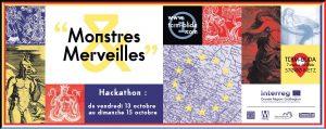 Hackathon Monstres et Merveilles – Metz – 13, 14 et 15 octobre 2017