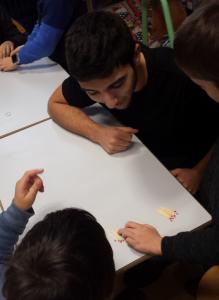 Médiation scientifique avec des élèves de CE2